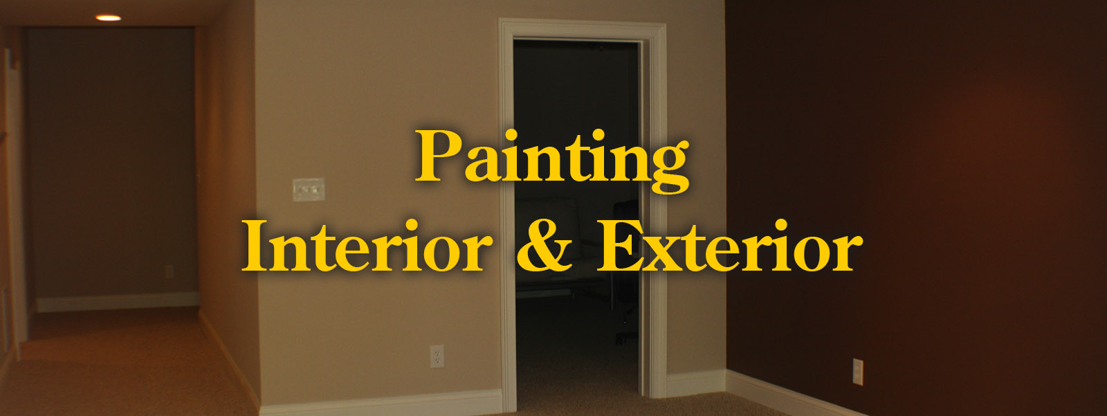 painting - interior and exterior trim
